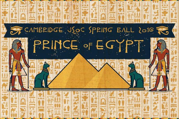 JSoc Ball 2016 - Prince of Egypt
