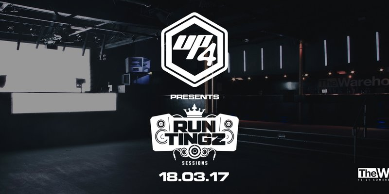 UP4: Run Tingz Sessions – Hazard/ Kry Wolf + Many more!