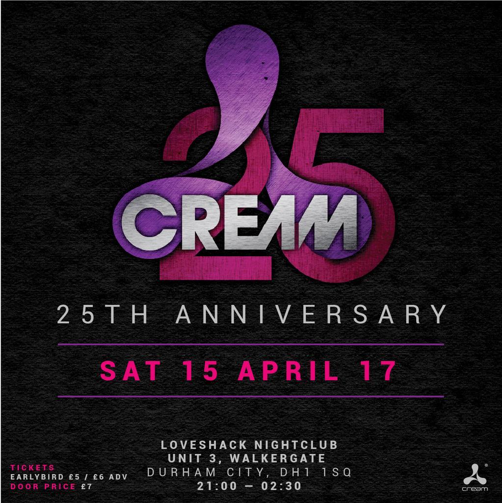 Cream 25th Anniversary Tour with SONIQUE
