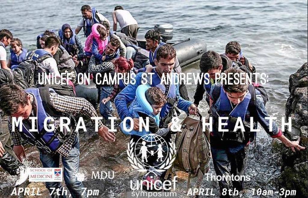 UNICEF Symposium 2017 Talk 1: Ann-Marie Wilson tickets on Saturday 8 Apr |  UNICEF on Campus, St Andrews | FIXR