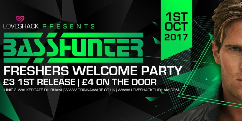 Basshunter Freshers Welcome Party