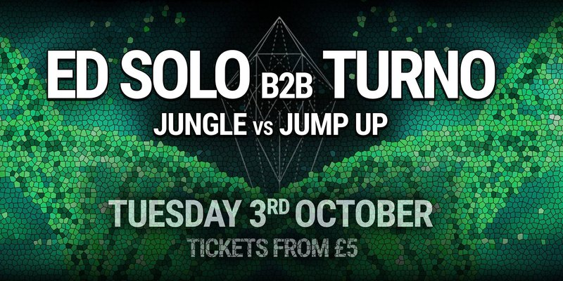 Dazed w/ Ed Solo b2b Turno - Jungle vs Jump Up