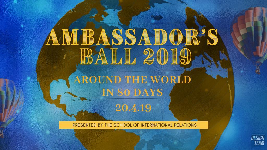 Ambassador's Ball 2019 tickets on Saturday 20 Apr