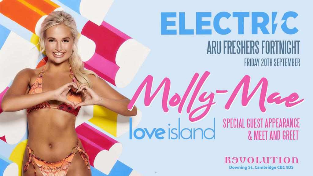 Electric Fridays - Freshers Party with Love Island's Molly Mae **ARU OFFICIAL FRESHERS**