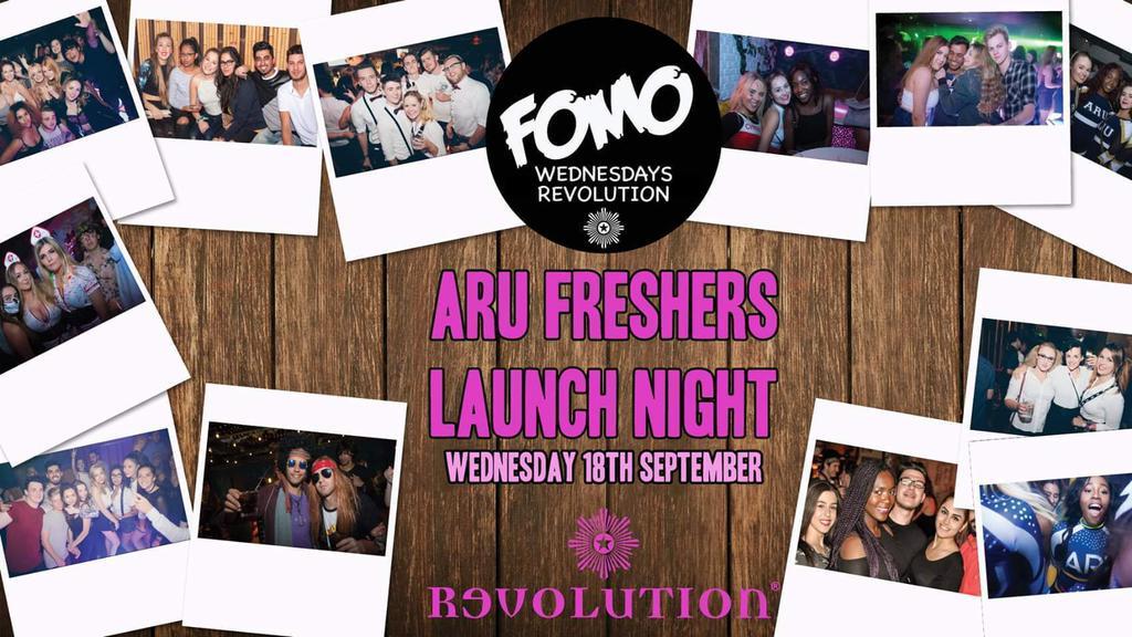 Official ARU sports Wednesday / FOMO / Revolution