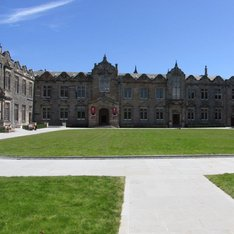 Upper and Lower College Hall of the United College Quadrangle